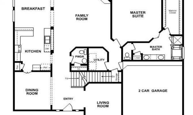 Five Bedroom House Floor Plans Ranch