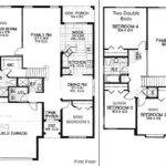 Five Bedroom Ranch Home House Plans Designs Floor Plan