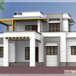 Flat Roof Bedroom Home Design Vatakara Kozhikkode