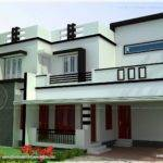 Flat Roof Bedroom Modern House Kerala Home Design Floor Plans
