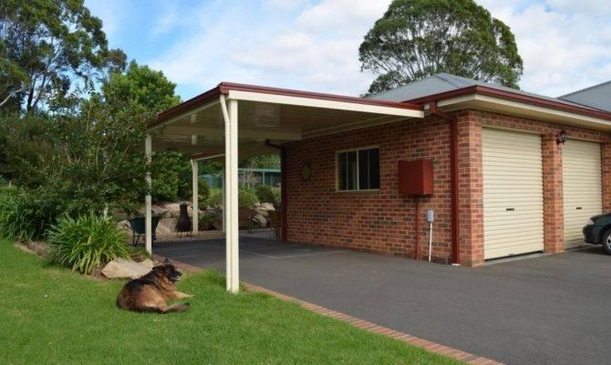 Flat Roof Garage Design Ideas Best