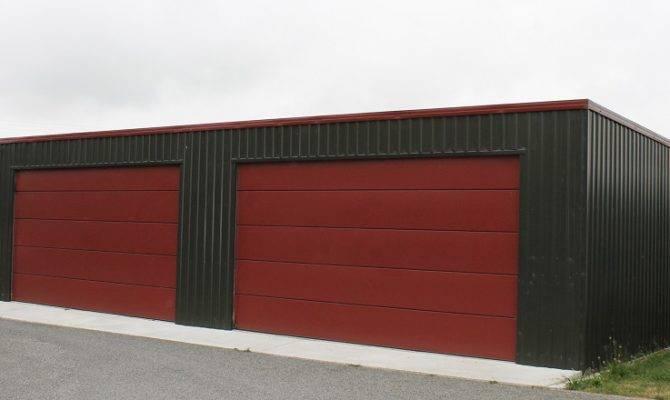 Flat Roof Garage Design