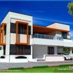 Flat Roof House Kerala Home Design Floor Plans