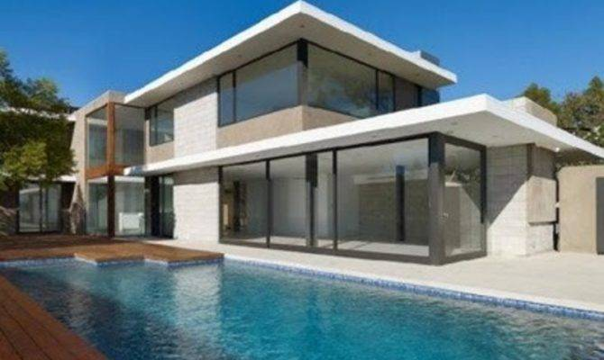 Flat Roof House Modern Remodeling Spacing Connection