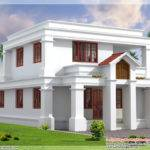 Flat Roof Indian Home Elevation Kerala Design