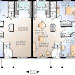 Flexible Two House Plan Architectural