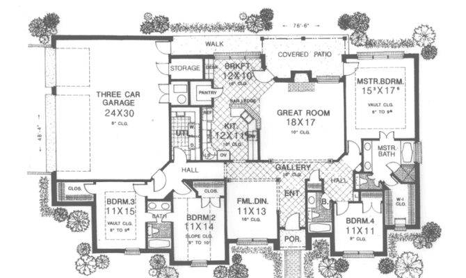 Flint Hill Country French Home Plan House Plans More