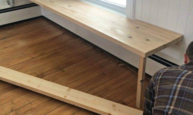 Floating Built Kitchen Bench Mary Haseltine
