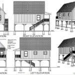Flood Plain Cabin Plans Blueprints Construction Documents Sds
