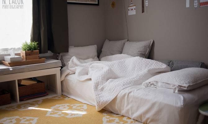 Floor Bed Frame Montessori Bath