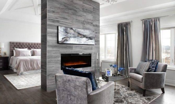 Floor Ceiling Fireplace Living Room Craftsman Wood