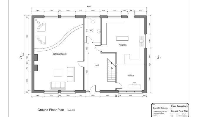 Floor Drawing Simple Plans