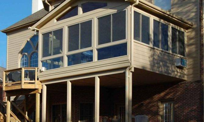 Floor Enclosed Porch Decks Patios Pinterest Sunrooms