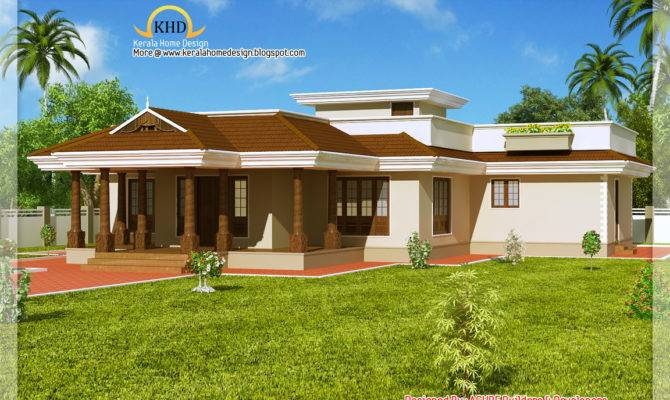 Floor House Plans There More Kerala Style Single