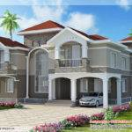 Floor Indian Luxury Home Design Kerala Plans