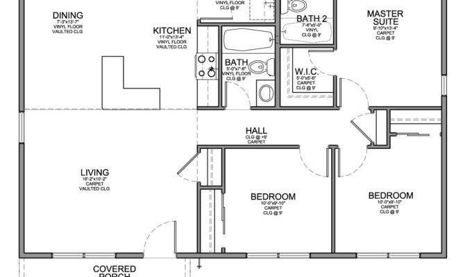 Floor Plan Affordable House Bedrooms