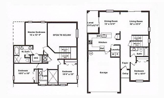 Floor Plan Affordable Orlando Vacation Home
