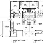 Floor Plan Attached Garage