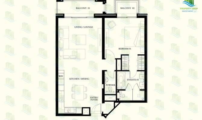 Floor Plan Bedroom Apartment Regis