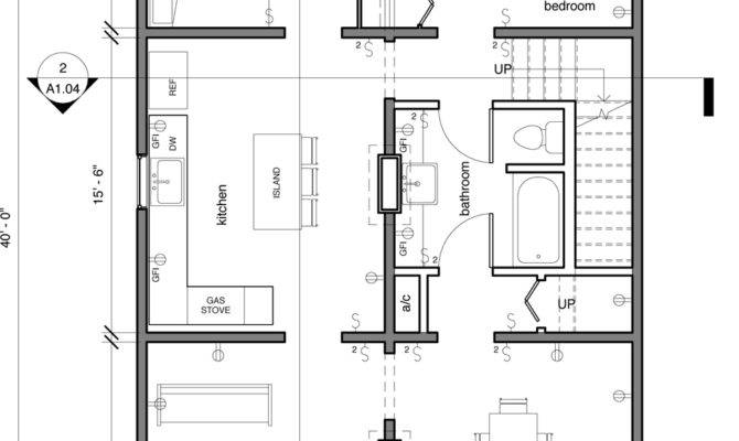 Floor Plan Creole Cottage