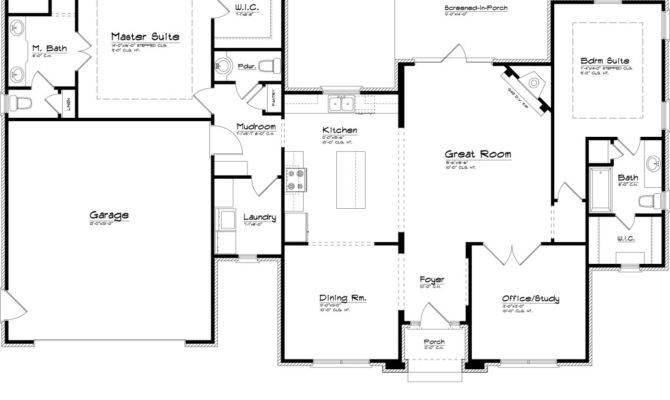 Floor Plan Design Applied Master Suite Plans Equipped