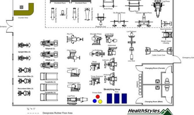 Floor Plan Design Gym Home Deco Plans House Plans 111913