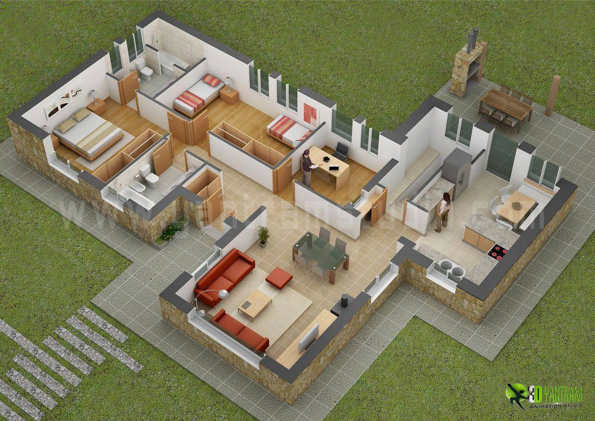 23 House Design Plans 3d Pictures From The Best Collection House Plans