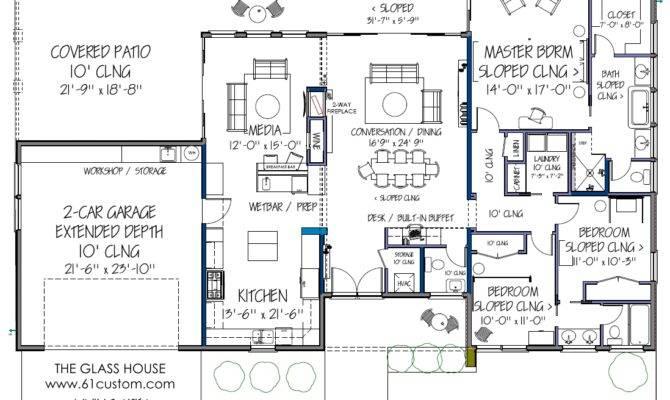 Floor Plan Design Ranch Home