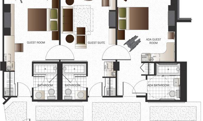 Floor Plan Drawing Landscaping Interior