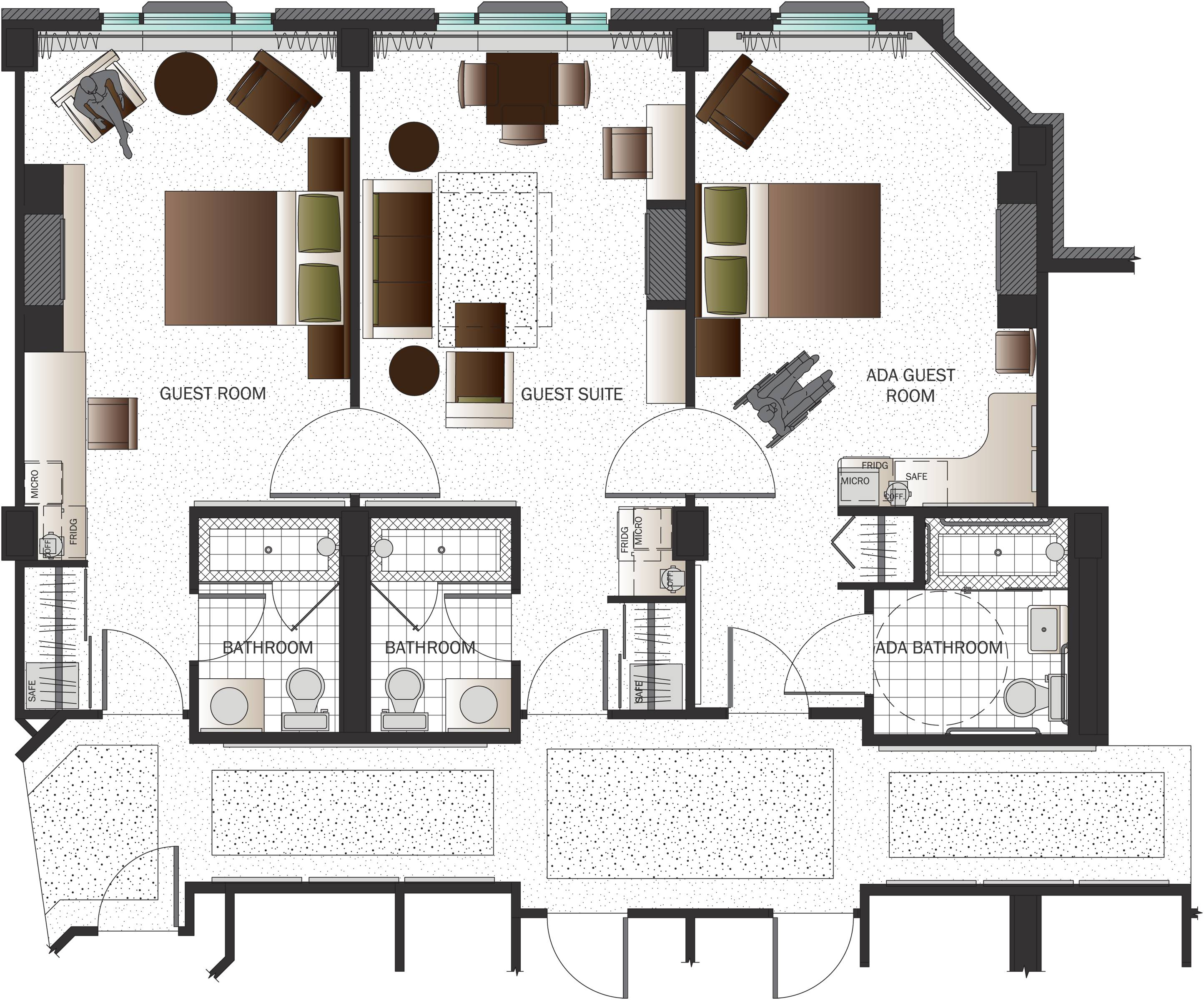 Floor Plan Drawing Landscaping Interior House Plans 6673