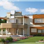 Floor Plan Elevation Unique Trendy House Kerala