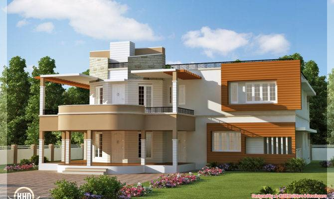 Floor Plan Elevation Unique Trendy House Kerala