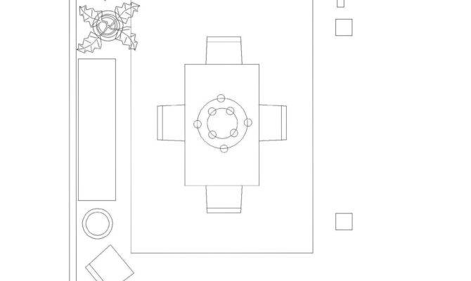 Floor Plan Example Custom Illustration