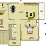 Floor Plan Fort House Near Hebbal Lake Bangalore