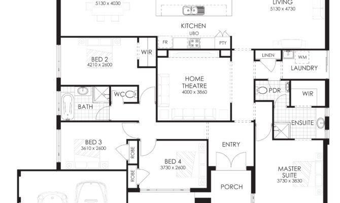 Floor Plan Friday Bedroom Home Rear Views
