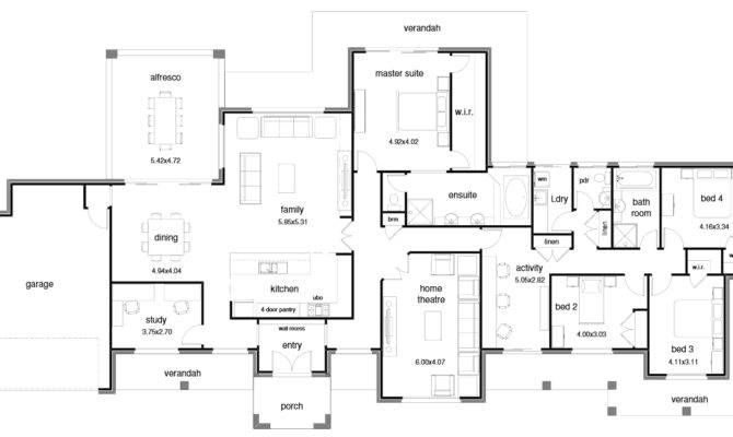 Floor Plan Friday Open Wide Block Activity Room Katrina