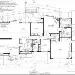Floor Plan Front Rear Elevations Kitchen