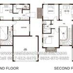 Floor Plan Giorgio House Model Crown Asia Premium Lot