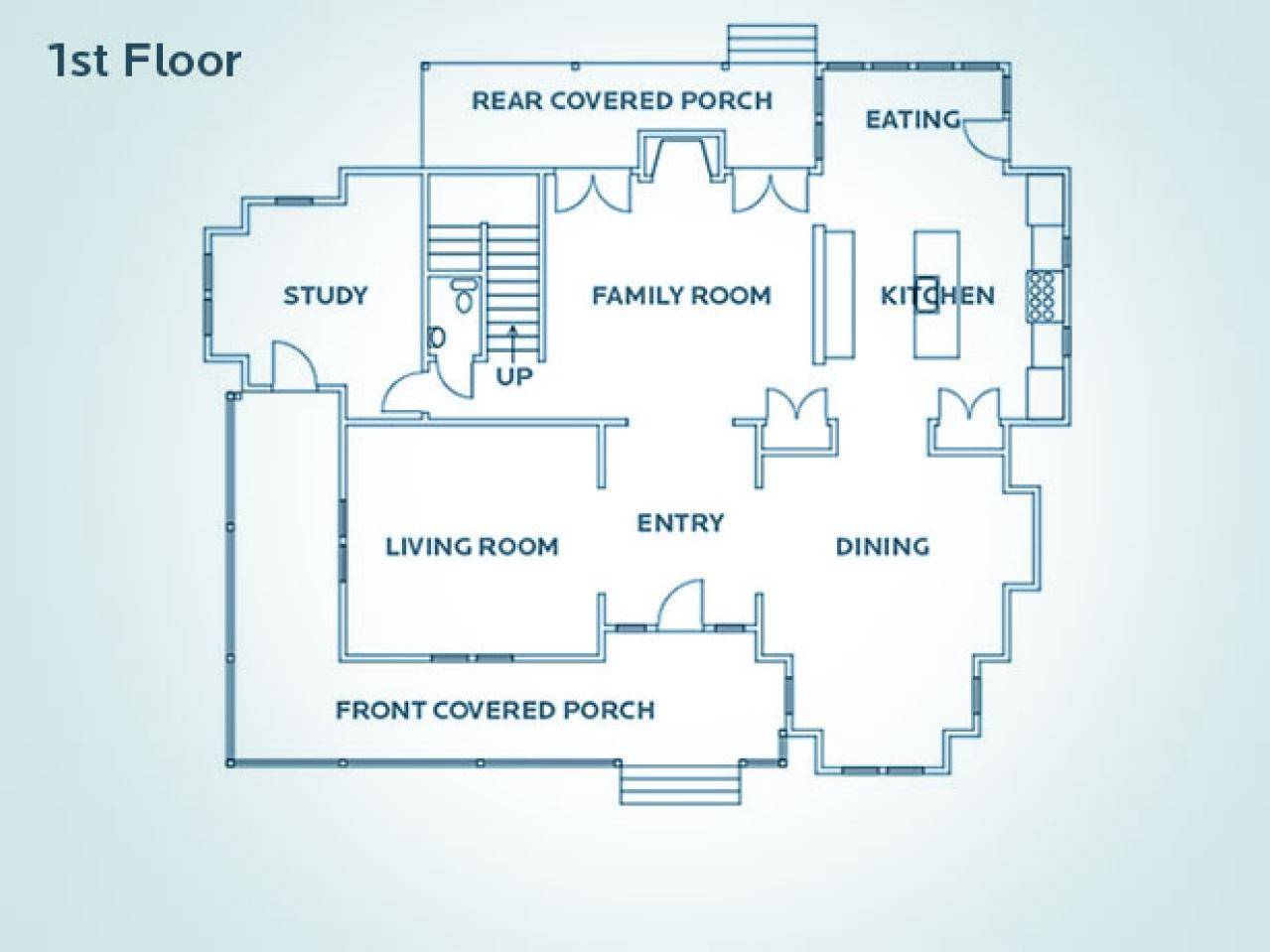 Floor Plan Hgtv Dream Home House