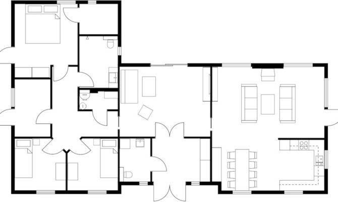 Floor Plan Houses Homes Plans