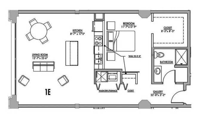 Floor Plan Junior House Lofts