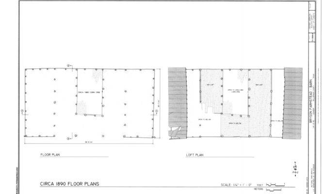 Floor Plan Loft Bryson Farmstead Barn