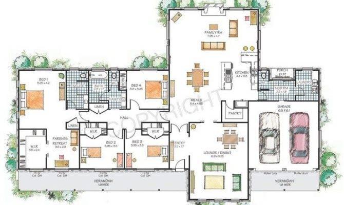 Floor Plan Modern House Best Plans