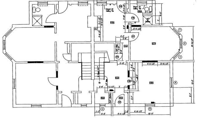 Floor Plan Modern House Design