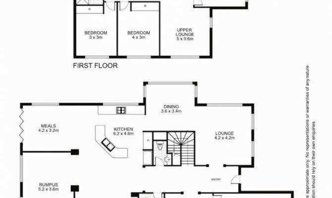 Floor Plan Modern House Dunphy Relaxbeautyspa