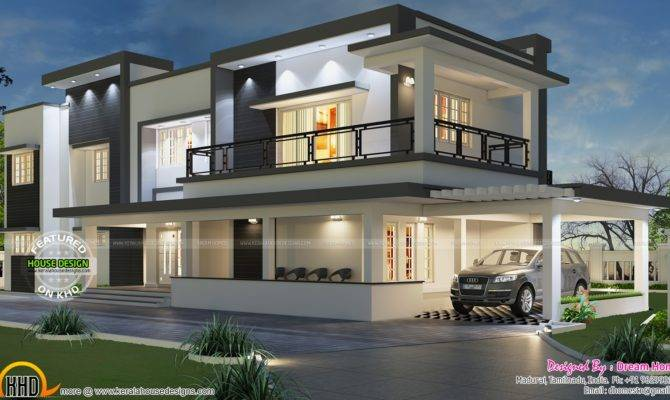 Floor Plan Modern House Kerala Home Design