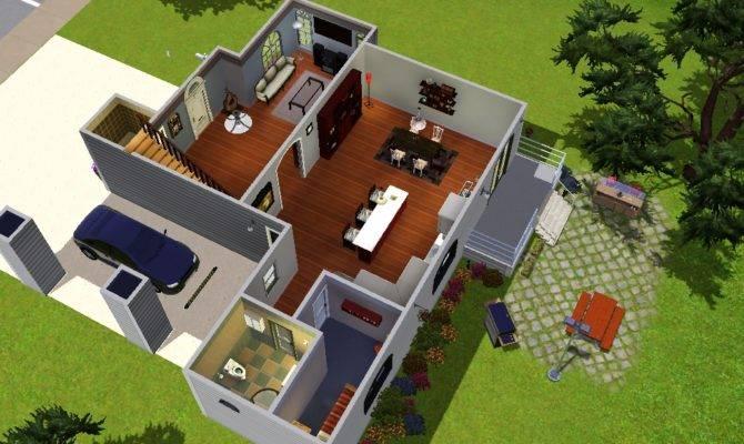 Floor Plan Modern House