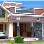 Floor Plan Modern Single Home Indian House Plans