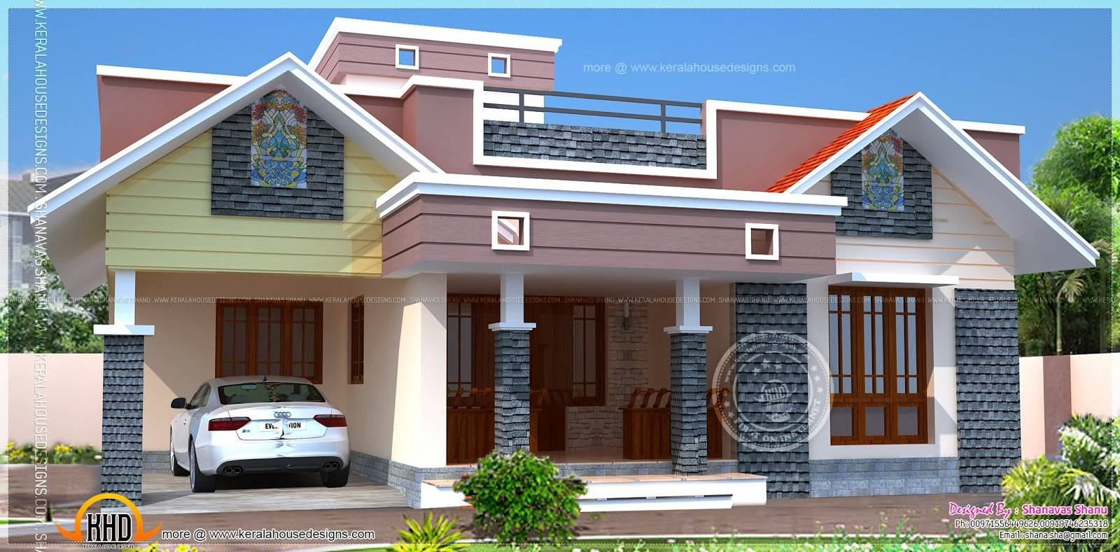 Floor Plan Modern Single Home Indian House Plans House Plans 67878