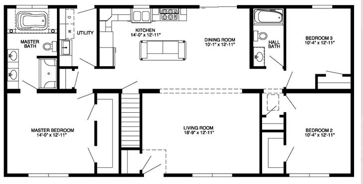 Floor Plan New House House Plans 46493